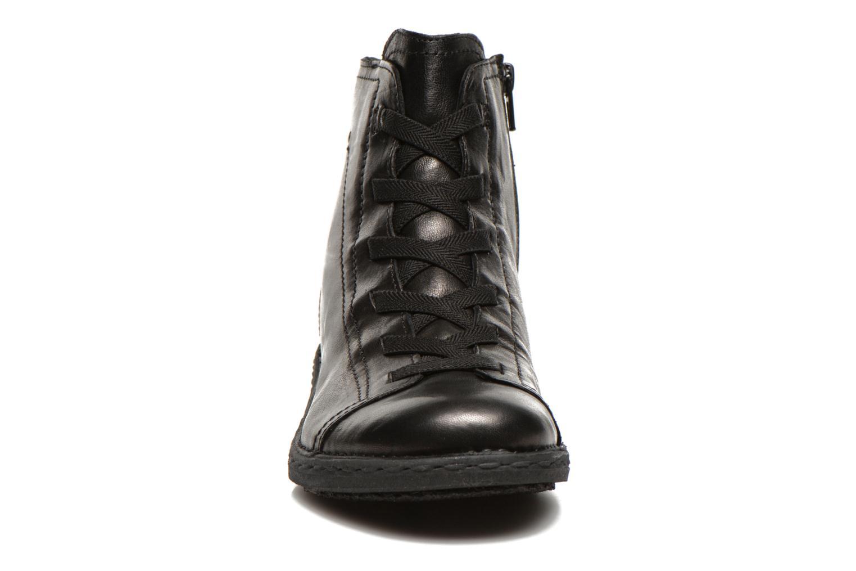 Snörade skor Khrio Recasteli Svart bild av skorna på