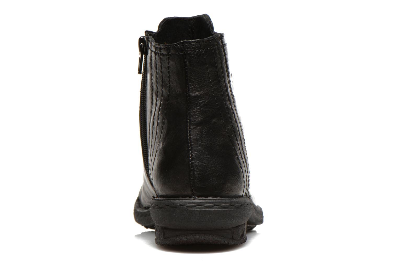Zapatos con cordones Khrio Recasteli Negro vista lateral derecha