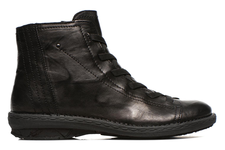 Zapatos con cordones Khrio Recasteli Negro vistra trasera
