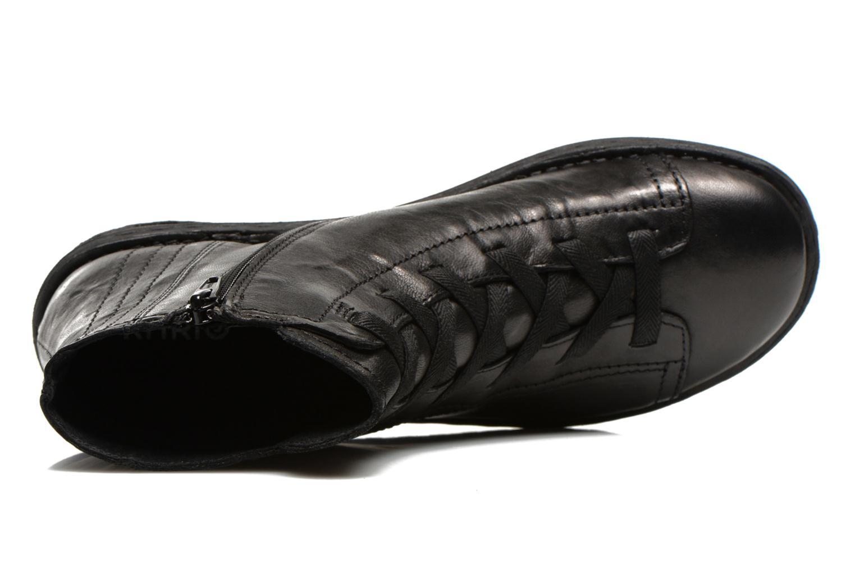 Snörade skor Khrio Recasteli Svart bild från vänster sidan
