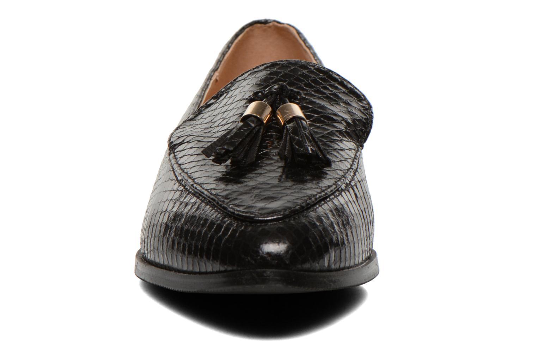 Slipper Eclipse Mocassin Paula schwarz schuhe getragen