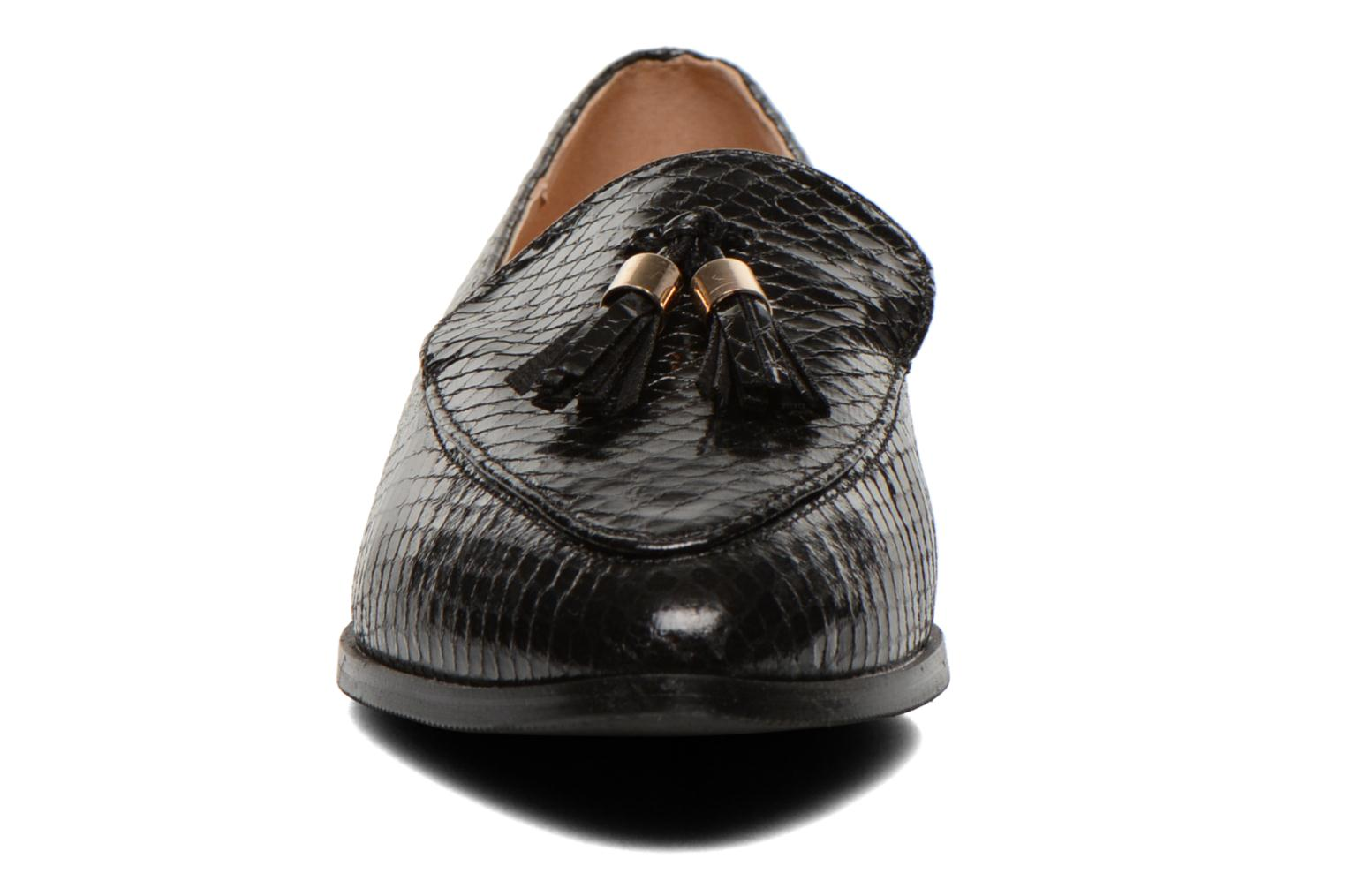 Loafers Eclipse Mocassin Paula Black model view
