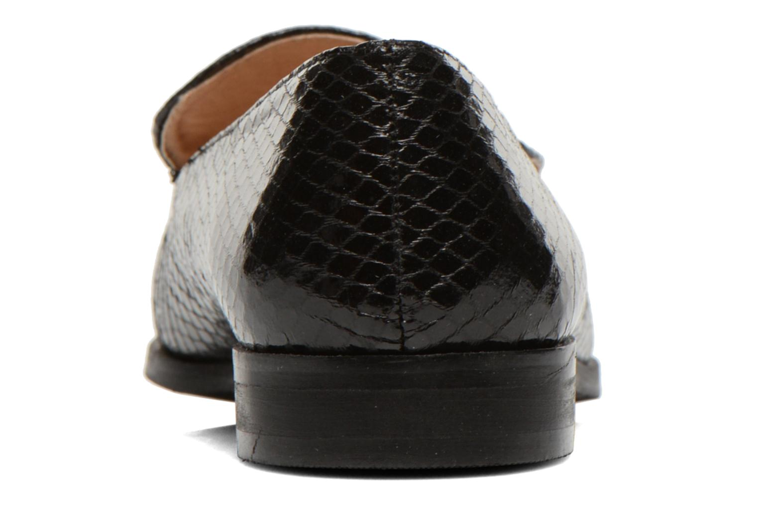 Loafers Eclipse Mocassin Paula Black view from the right