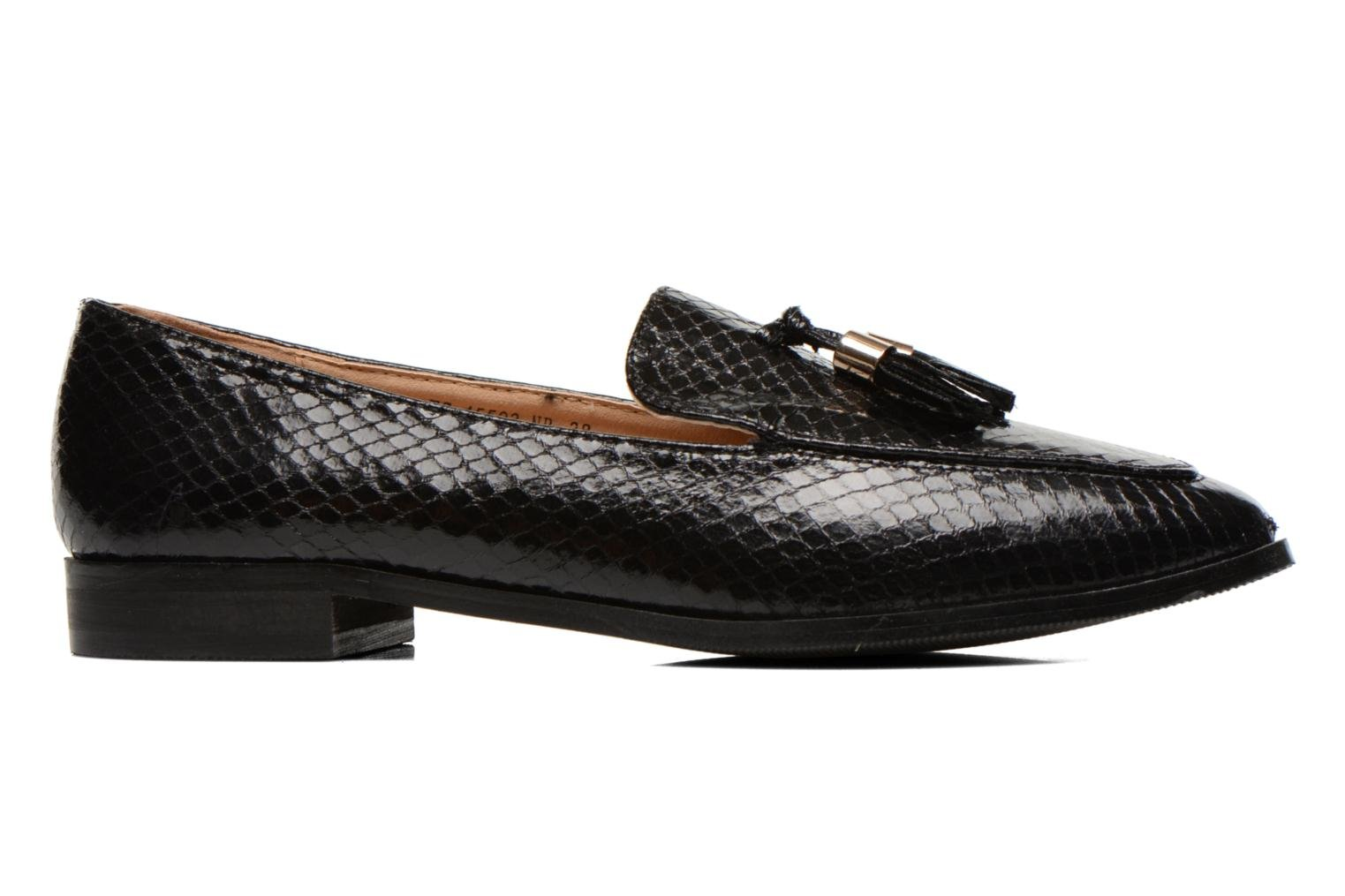 Loafers Eclipse Mocassin Paula Black back view