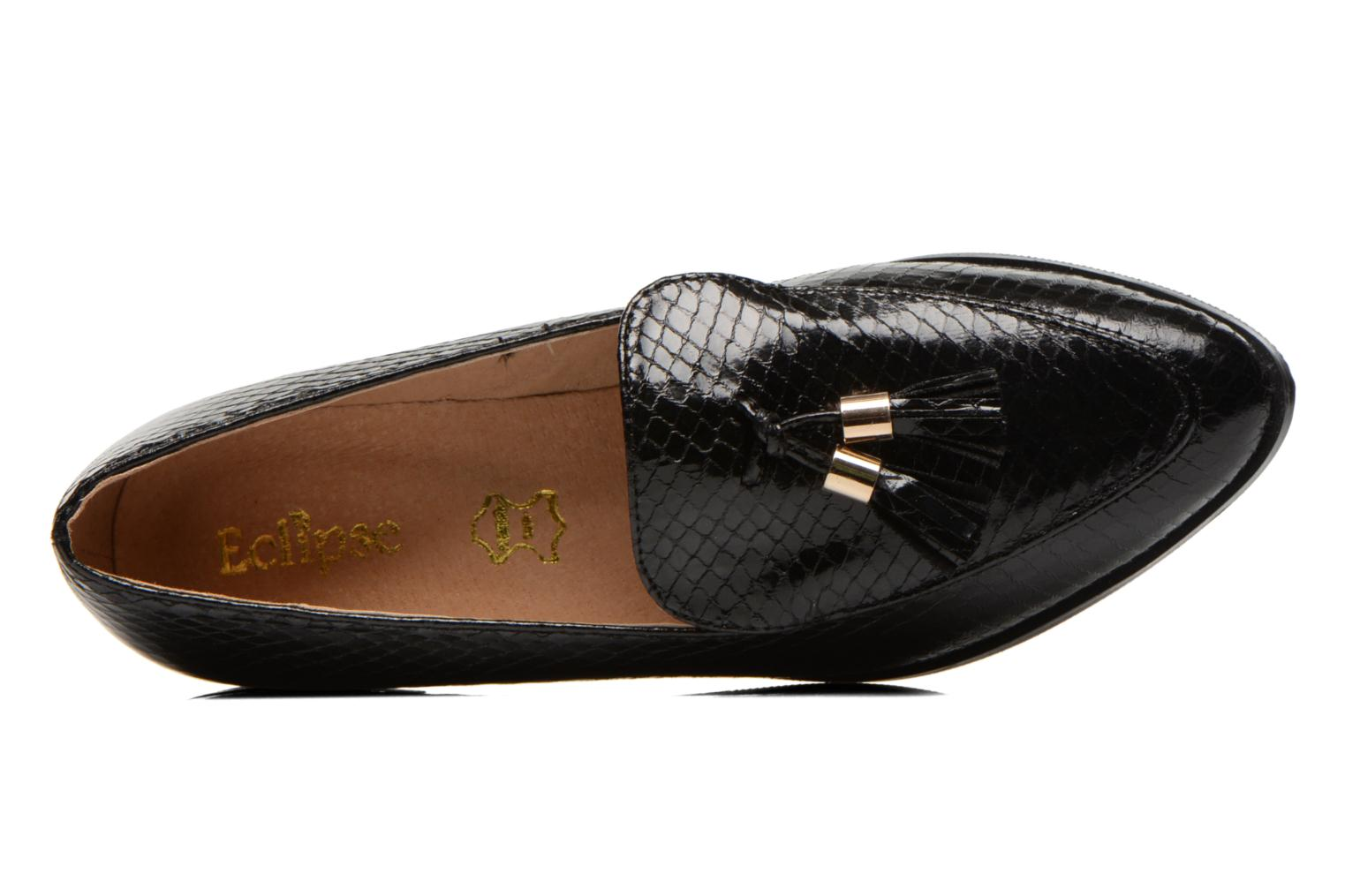 Loafers Eclipse Mocassin Paula Black view from the left