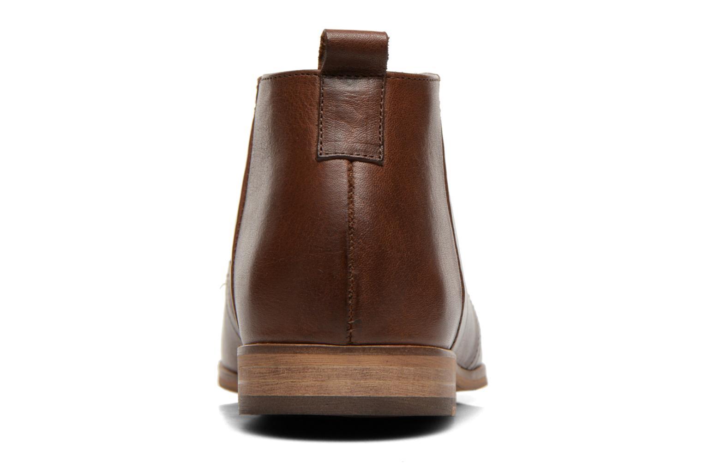 Chaussures à lacets Kost Zepee27 Marron vue droite