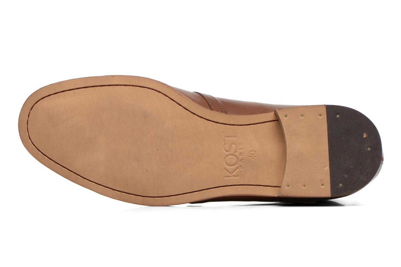Chaussures à lacets Kost Zepee27 Marron vue haut