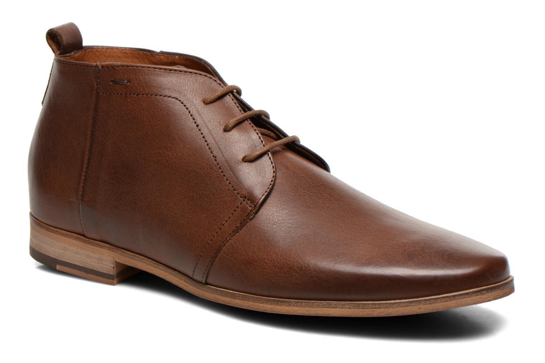 Zapatos con cordones Kost Zepee27 Marrón vista de detalle / par
