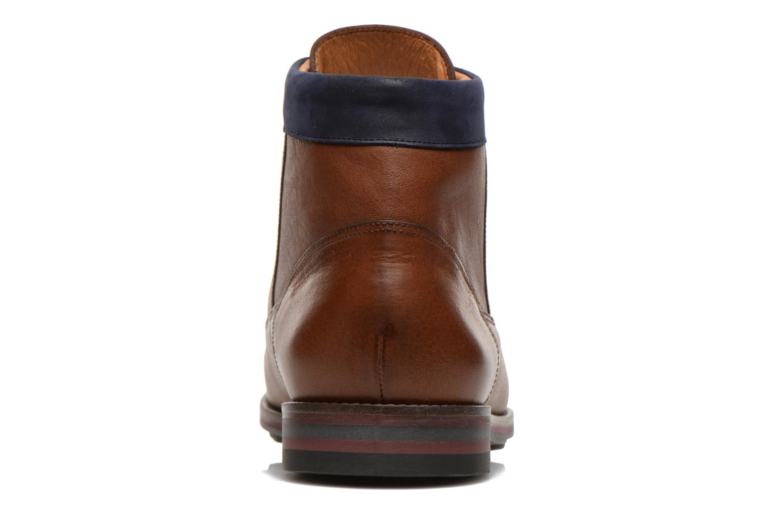 Ankle boots Kost Rotaller27 Brown view from the right