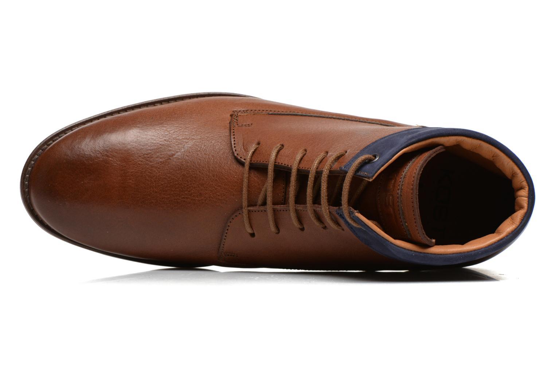 Boots en enkellaarsjes Kost Rotaller27 Bruin links