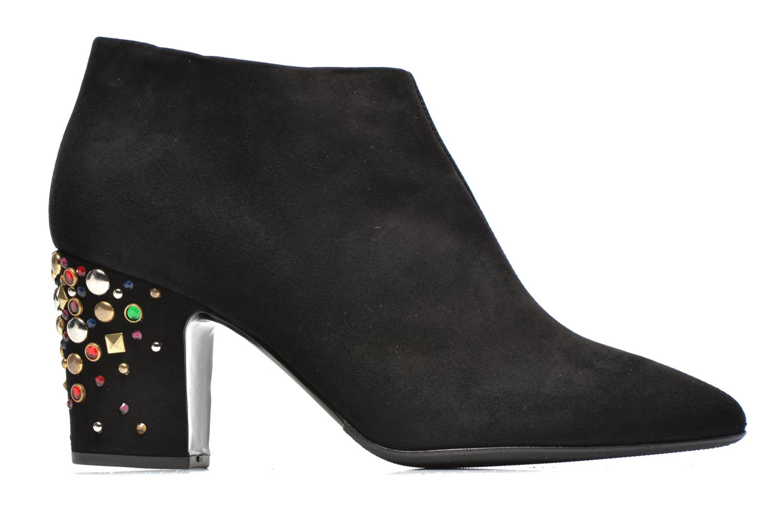 Ankle boots Vicini Bottines talon bijoux Black back view