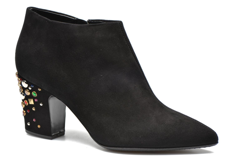 Ankle boots Vicini Bottines talon bijoux Black detailed view/ Pair view