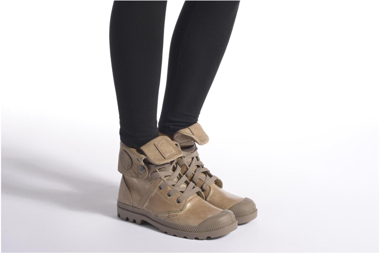 Sneakers Palladium Pallabrousse Baggy L2 U W Brun bild från under