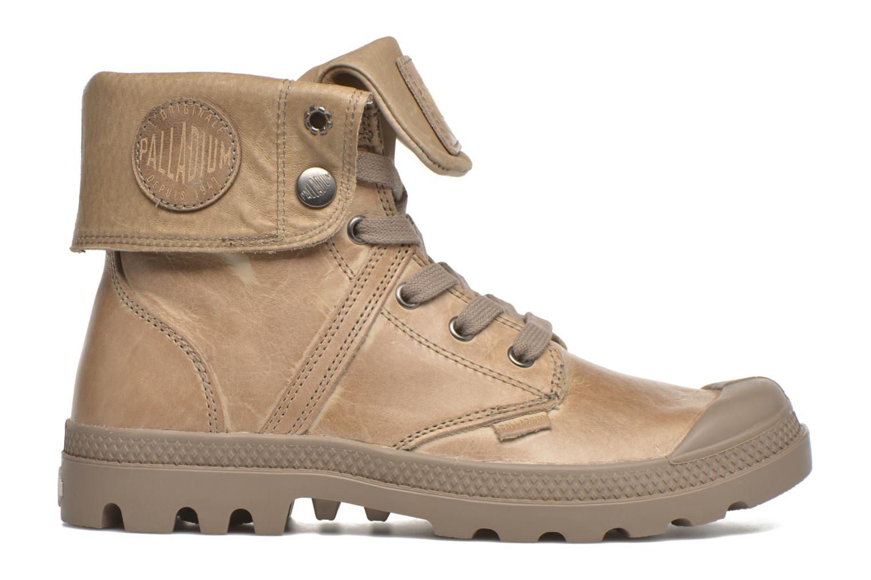 Sneakers Palladium Pallabrousse Baggy L2 U W Brun bild från baksidan