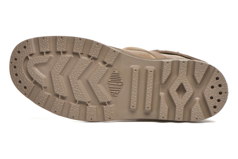 Sneakers Palladium Pallabrousse Baggy L2 U W Brun bild från ovan