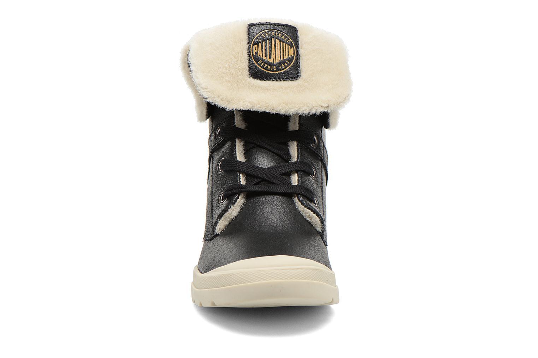Bottines et boots Palladium Ecuador Pilot Noir vue portées chaussures