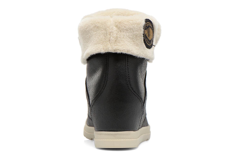 Bottines et boots Palladium Ecuador Pilot Noir vue droite