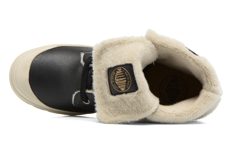 Bottines et boots Palladium Ecuador Pilot Noir vue gauche