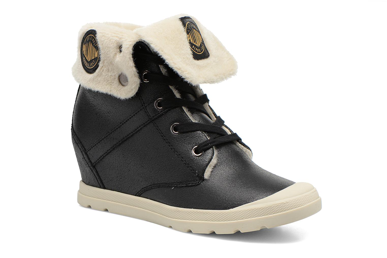 Bottines et boots Palladium Ecuador Pilot Noir vue détail/paire