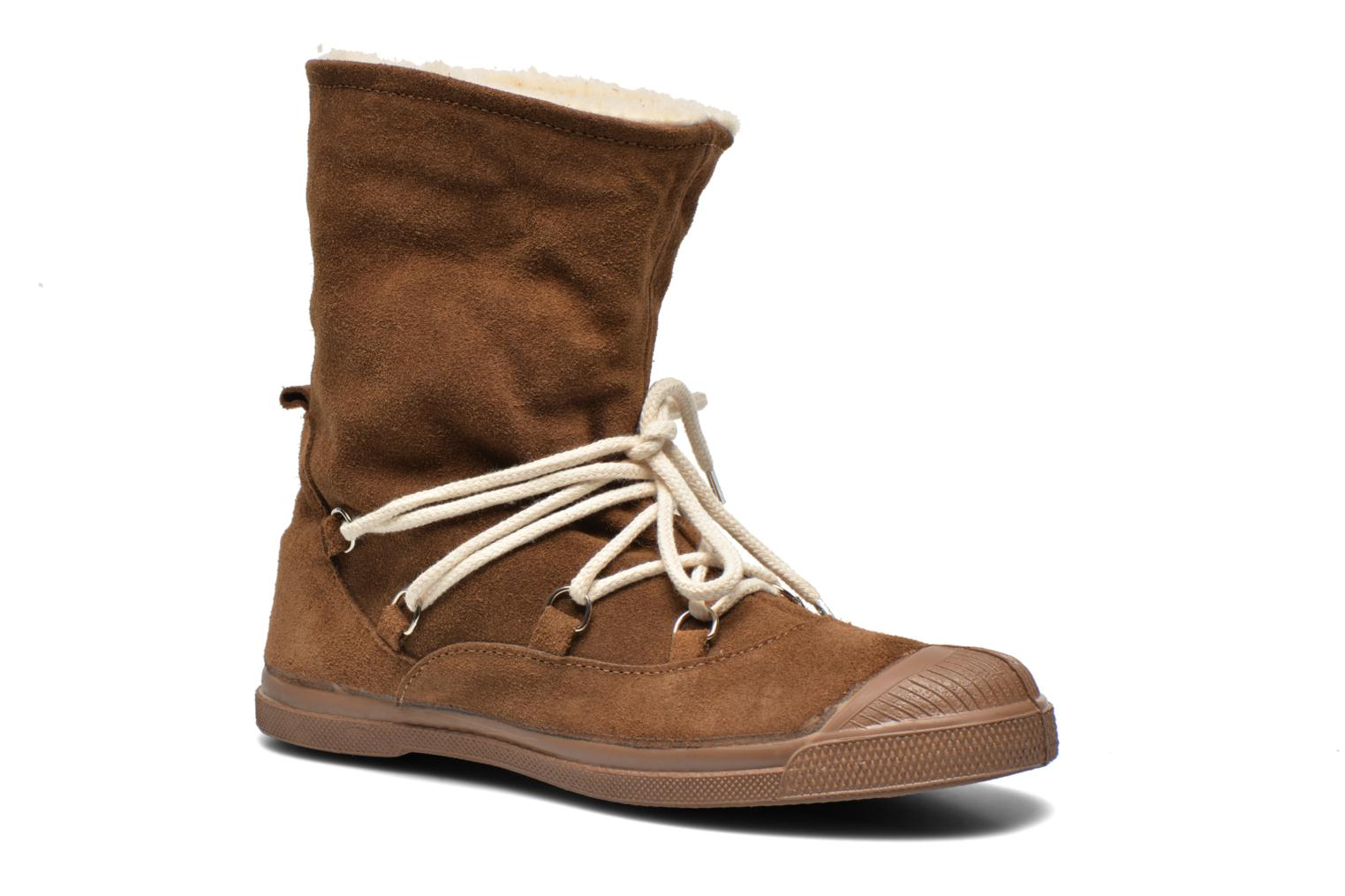 Ankle boots Bensimon Boot Mountain Brown 3/4 view