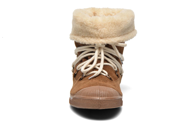 Bottines et boots Bensimon Boot Mountain Marron vue portées chaussures
