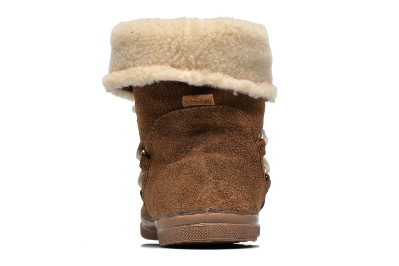 Bottines et boots Bensimon Boot Mountain Marron vue droite