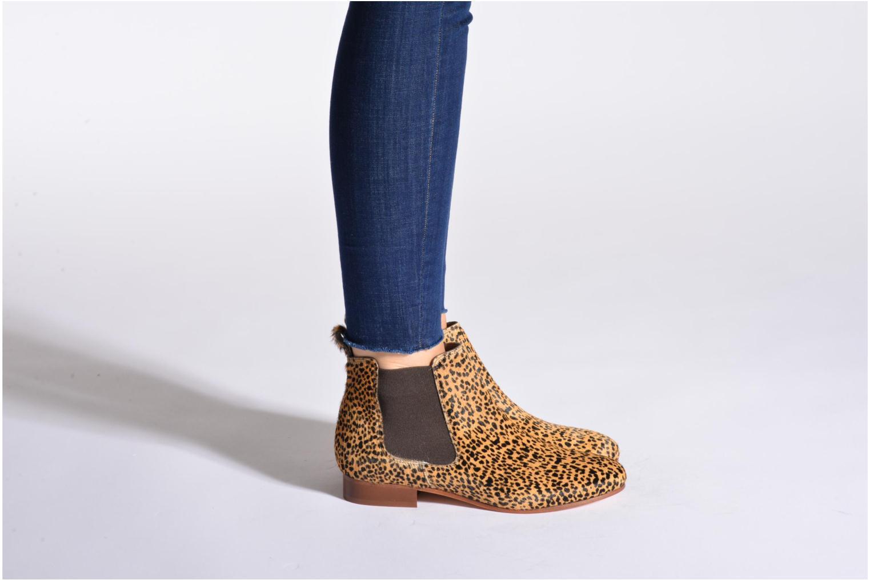 Stiefeletten & Boots Bensimon Chelsea Boots mehrfarbig ansicht von unten / tasche getragen