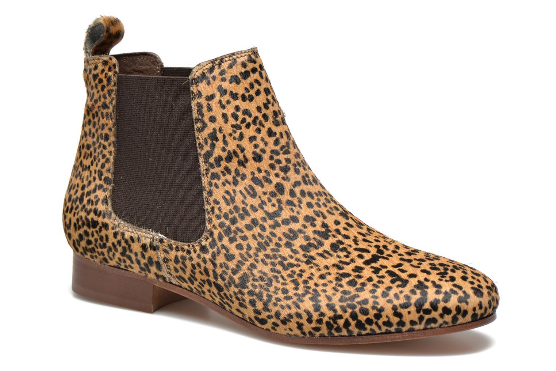 Marques Chaussure femme Bensimon femme Chelsea Boots Leopard