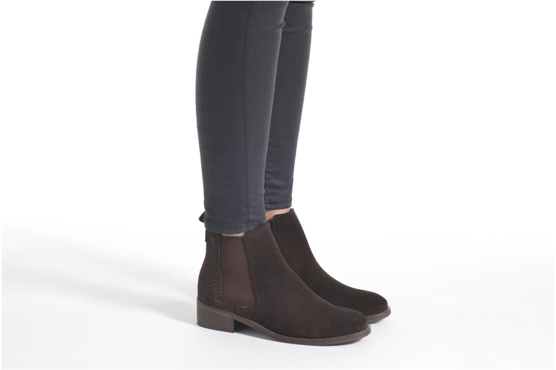 Stiefeletten & Boots Bensimon Boots Elastiques braun ansicht von unten / tasche getragen
