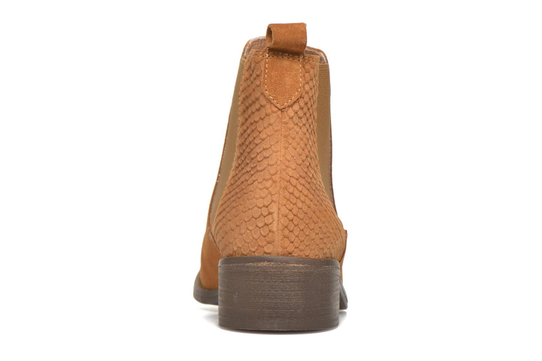 Stiefeletten & Boots Bensimon Boots Elastiques braun ansicht von rechts