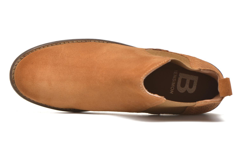 Stiefeletten & Boots Bensimon Boots Elastiques braun ansicht von links