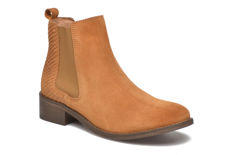 Boots Elastiques Ocre