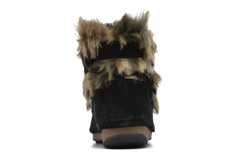 Boots en enkellaarsjes Moon Boot Low Fur Zwart rechts