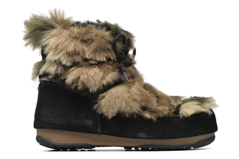 Boots en enkellaarsjes Moon Boot Low Fur Zwart achterkant