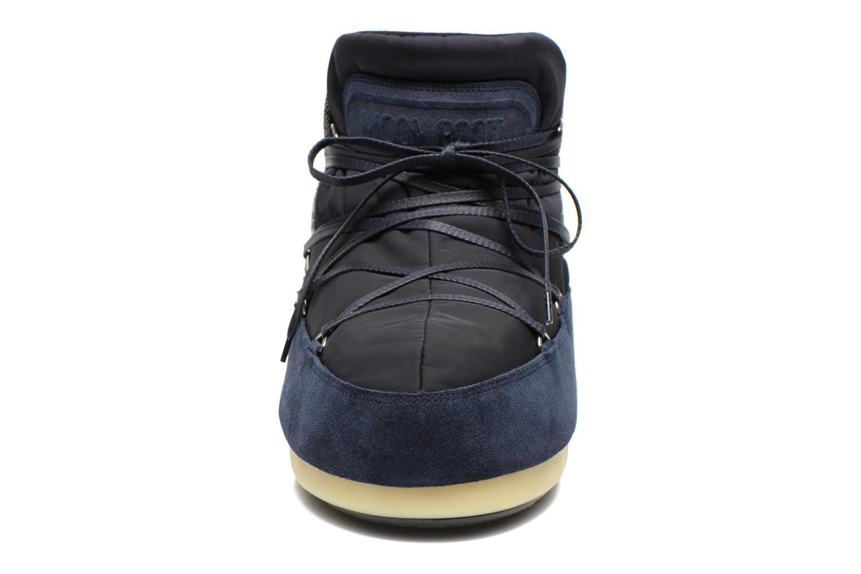 Bottines et boots Moon Boot Buzz Mix Bleu vue portées chaussures
