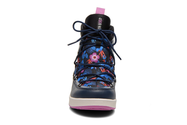 Bottines et boots Moon Boot Neil Kauai Bleu vue portées chaussures