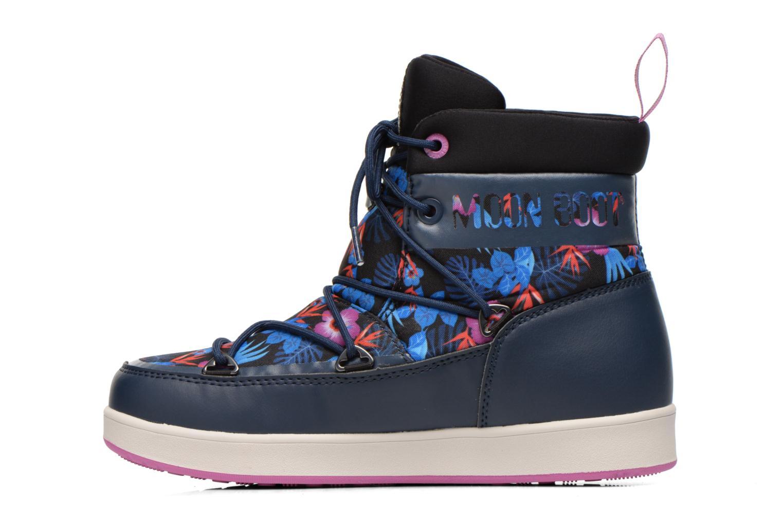 Bottines et boots Moon Boot Neil Kauai Bleu vue face