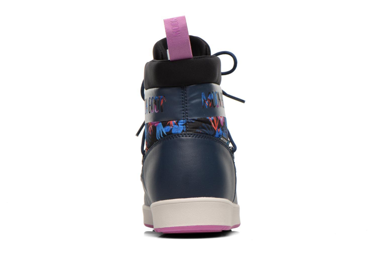 Bottines et boots Moon Boot Neil Kauai Bleu vue droite