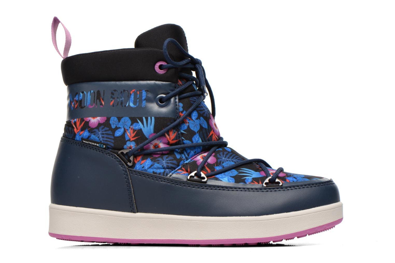 Bottines et boots Moon Boot Neil Kauai Bleu vue derrière