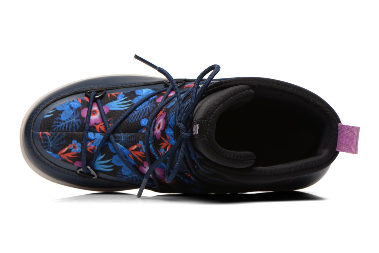 Bottines et boots Moon Boot Neil Kauai Bleu vue gauche