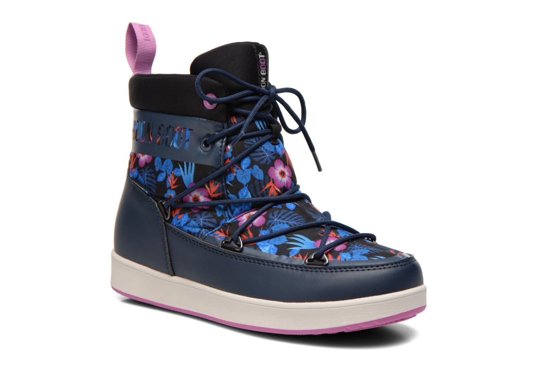 Bottines et boots Moon Boot Neil Kauai Bleu vue détail/paire
