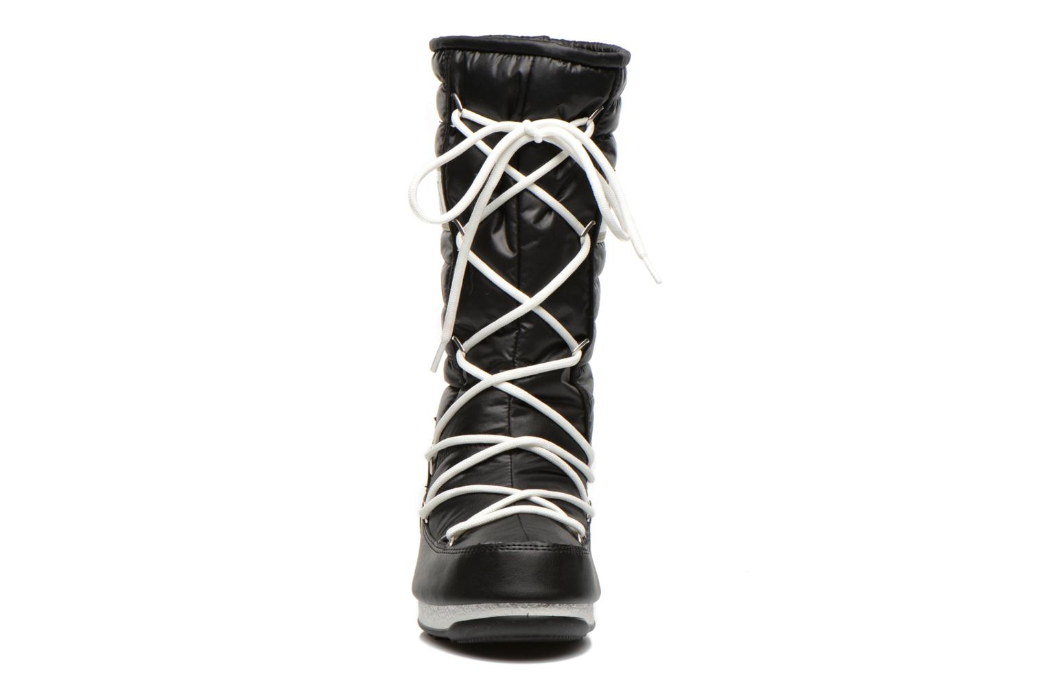 Ankle boots Moon Boot Quilted Black model view