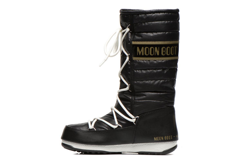 Stiefeletten & Boots Moon Boot We Quilted schwarz ansicht von vorne