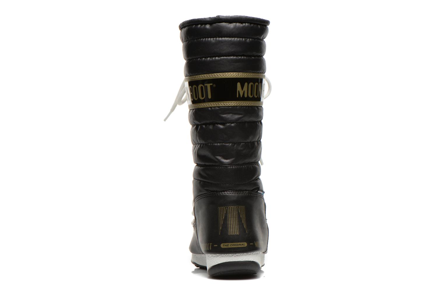 Ankle boots Moon Boot Quilted Black view from the right
