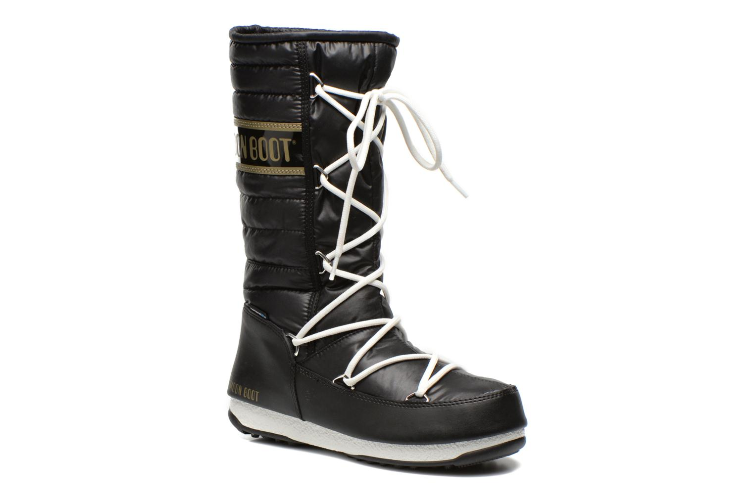 Ankle boots Moon Boot Quilted Black detailed view/ Pair view