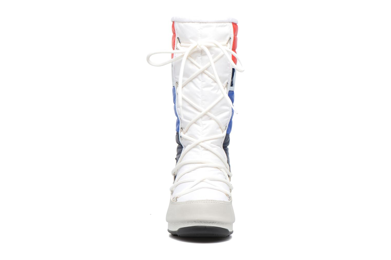 Bottines et boots Moon Boot We Quilted Blanc vue portées chaussures