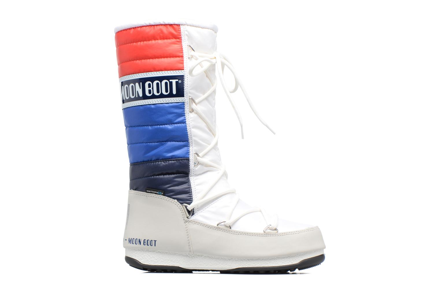 Ankle boots Moon Boot We Quilted White back view