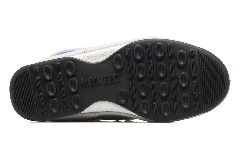 Bottines et boots Moon Boot Quilted Blanc vue haut