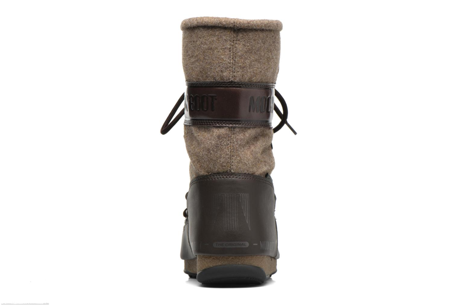 Ankle boots Moon Boot Vienna Felt Brown view from the right