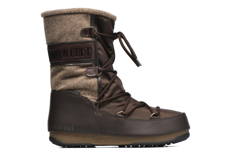 Bottines et boots Moon Boot Vienna Felt Marron vue derrière